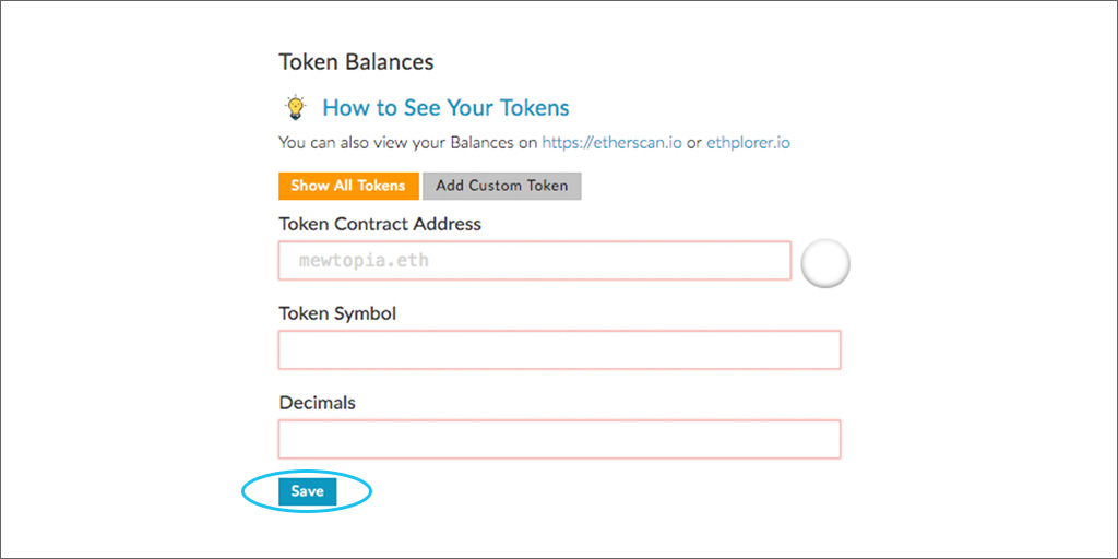 MyEtherWallet Screen 05